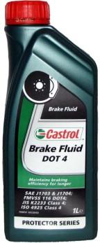 Bromsvätska DOT 4 Castrol-  1 liter