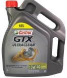Motorolja Castrol GTX 10W-40 UltraClean A3/B4 /5 Liter