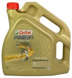 Castrol 2-takts-Olja/MC-Karting/Power 1 Racing 2T (Helsyntet) 4 liter
