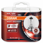 H4 lampa OSRAM 12V 60/55W NIGHT BREAKER 2-Pack