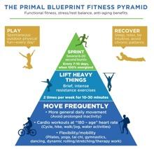 Primal Blueprint Fitness Pyramid. Lägg energin på rätt saker!