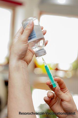 Fa inflammationer efter barnvaccin