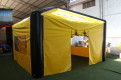Uppblåsbart tält