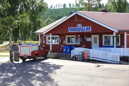 Finnskoga MK:s Motorstadion.