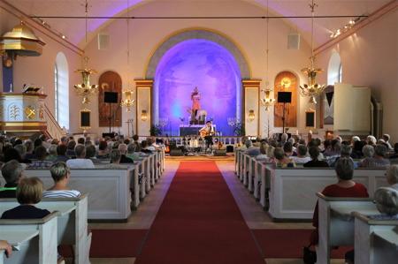 Allsköns musik i Silbodals kyrka.