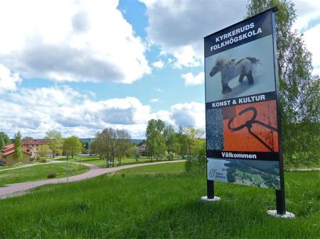 Kyrkeruds Folkhögskola i Årjäng.