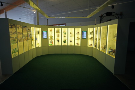 Nordiska Travmuséet i Årjäng / Hall of Fame.
