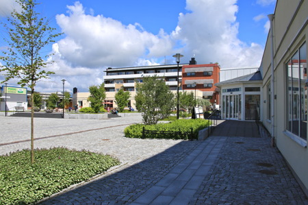 Nya torget i Årjäng.