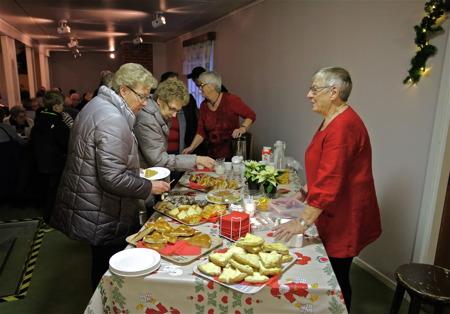 Julmarknad i Hämnäs bygdegård.