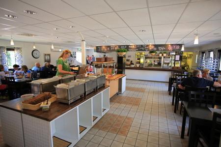 Valbergsängens restaurang.