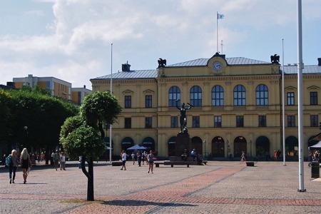 Stora torget - foto  Peter Labraaten.