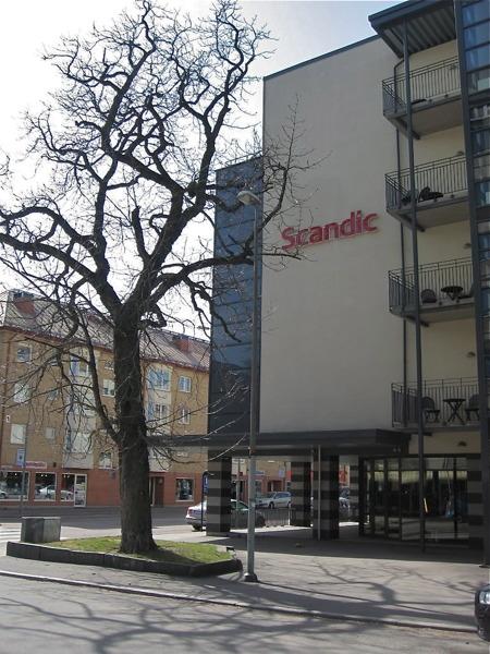 Scandic hotell i Karlstads centrum.