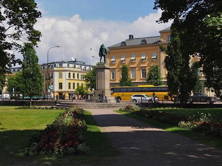 Residensparken - foto Peter Labraaten.