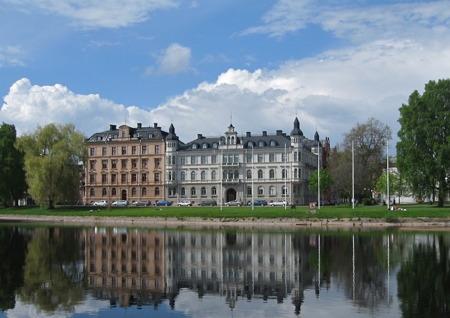 Stadsdelen Klara med bl a Sockerslottet.