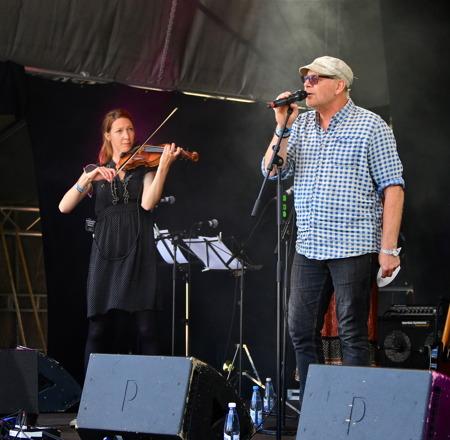 Göran Samuelsson var en av gästerna.