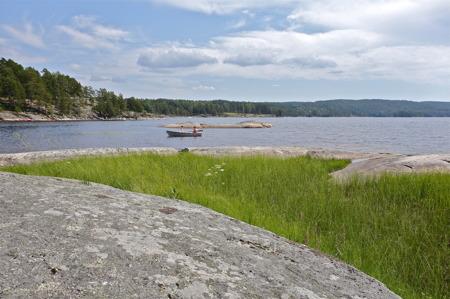 Sjön Foxen vid Västra Fåågelvik.