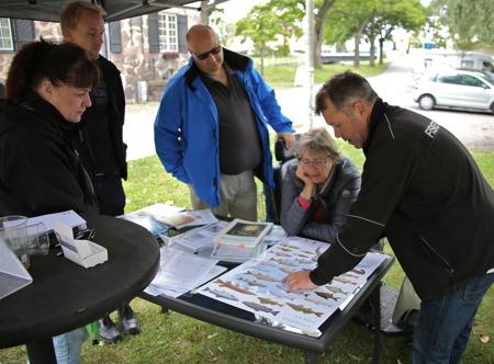 Personal från Fisketillsynen berättade om Vänerns fiskar.