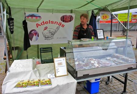25 juli 2015 - Matmarknad på Stortorget.