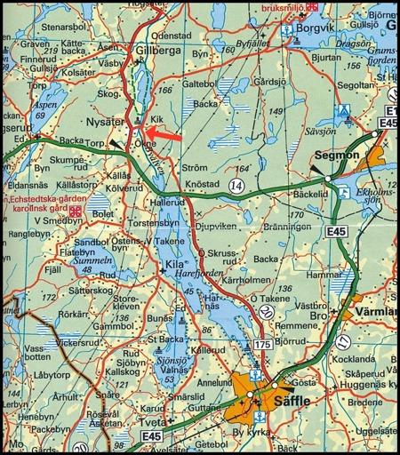 © Norstedts kartor   www.norstedts.se - klicka på kartan för större bild.