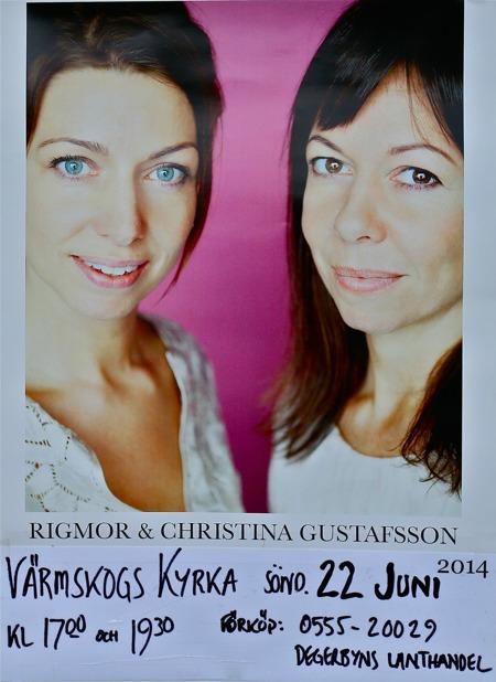 Systrarna Rigmor och Christina Gustafsson har sina rötter i Värmskogsbygden.