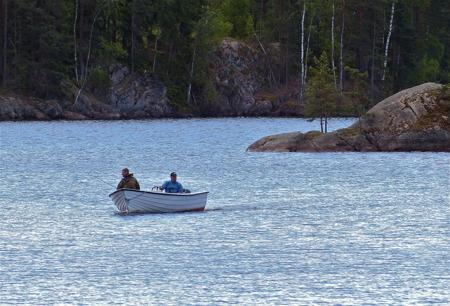 Möjlighet till fiske i trollska vatten.