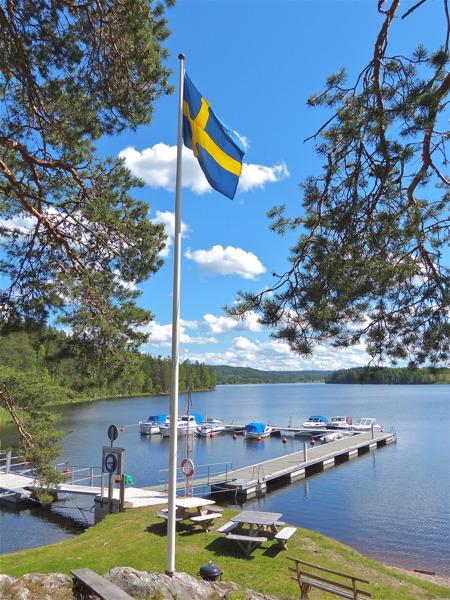 Holmerudsfors Gästhamn.