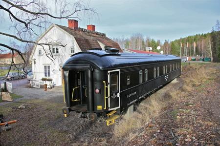 Sovvagnen har landat och Sillerud har fått en annorlunda form av rumsuthyrning.