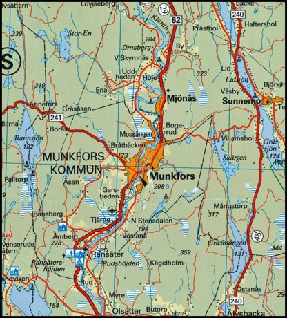 © Norstedts kartor   www.norstedts.se, klicka på kartan för större bild.