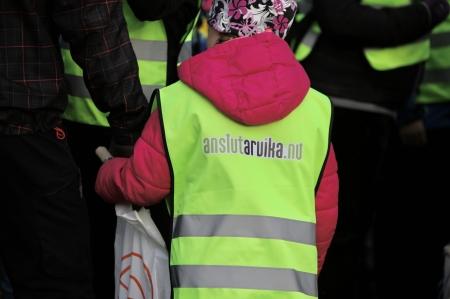 Under tiden passade man på att göra reklam för Fiberanslutning av Arvika kommun.
