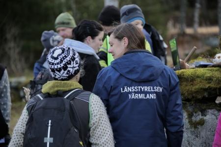 Maria Falkevik, rovdjursansvarig vid Länsstyrelsen i Värmlands län.