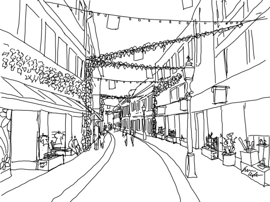 Smedjegatan, Illustration: Tom  Billingham