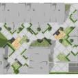 Illustrationsplan, nybyggnation bostadsrätter, Kv Fågeln, Jönköping