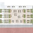 Illustrationsplan, ombyggnation takterass restaurang trygghetsboende, Nässjö, Riksbyggen
