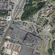 Ortofoto, Volvoområde och Boulognerskogen, Skövde