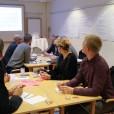 Workshop, planering för höghastighetsbanans station. Jernhusen, Jönköpings kommun, Södra Munksjön Utveckling AB