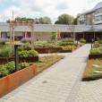 Ombyggnation innergård trygghetsboende, Nässjö, Riksbyggen