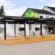 Kvarteret Ödlan, konceptskiss för utvecklingen av utemiljön vid ett nytt kultur- och naturhus, nytt café/häng, Jönköping
