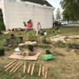 Kvarteret Ödlan, konceptskiss för utvecklingen av utemiljön vid ett nytt kultur- och naturhus,odling, Jönköping