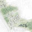 Översiktsplan, ny stadsdel, tävlingsbidrag Bjärred. I samarbete med Metria AB