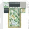 Situationsplan innergård och takterasser, vinnande förslag i markanvisningstävling, Västerport, Varberg, Hökerum Bygg