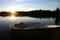 båt Långasjön