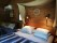 Guldgrävarstugan säng