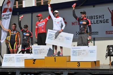 1:a Mikael Flockhart, Team Powerbar. 2:a Johan Landström, Team Cykelcity.se. 3:a Lars Bleckur, Cykloteket Racing Team. 4:a Fredrik Edin, Cykloteket Racing Team. 5:a Matthias Wengelin, Team Kalas/Pedalogerna.