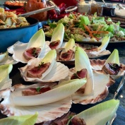 Lätthalstrad tonfisk