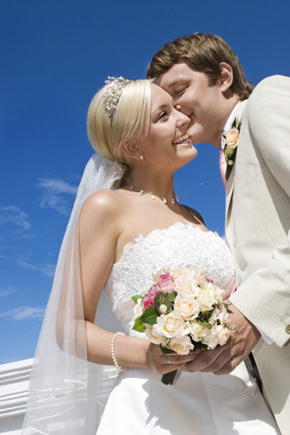 Bröllopspar, lyckad planering