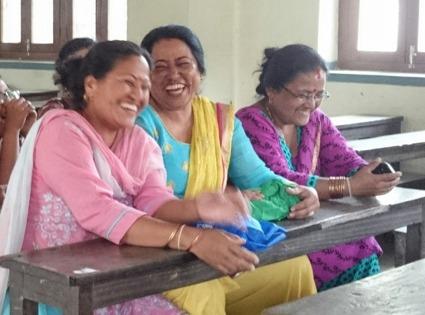 Kvinnor, Kathmandu, Nepal