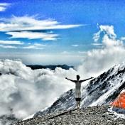 En ryggsäck, berget, bergsgudarna och livet på tu man hand. Argentina.