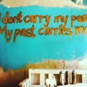 Min grafittivägg hemma i köket.