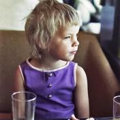 Min favoritbild. Fina livet, tänk vad det skulle bli av allt. Foto: Pappa.
