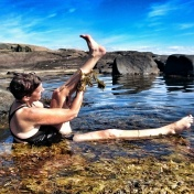 Naturen bjuder på badass spa! Foto: Gull-Inger Torstensson